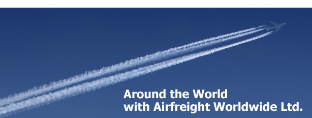 Around the World with Airfreight Worldwide Ltd